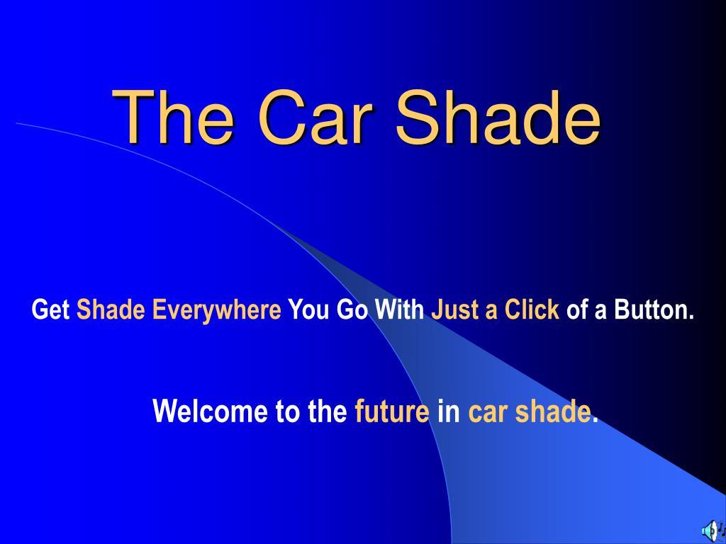 the car shade l.