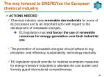 the way forward to energyze the european chemical industry31