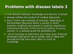 problems with disease labels 3