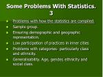 some problems with statistics 3