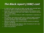 the black report 1980 cont20