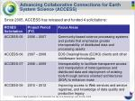 advancing collaborative connections for earth system science access10