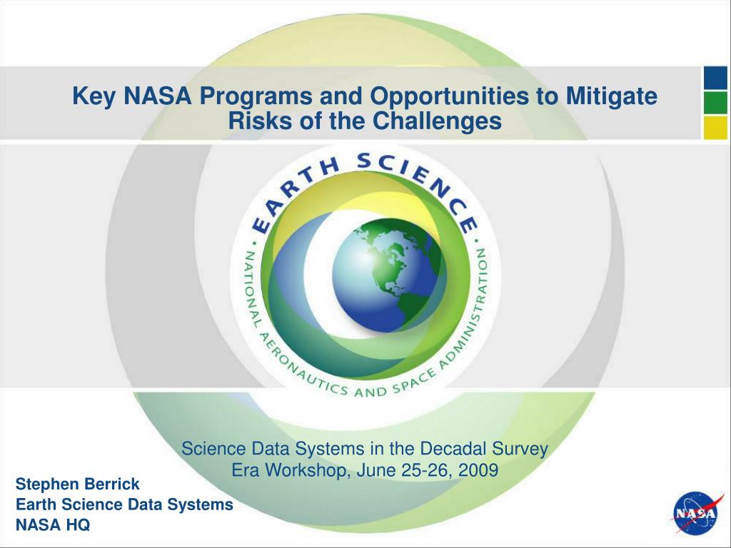key nasa programs and opportunities to mitigate risks of the challenges l.