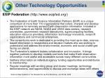 other technology opportunities14