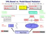 xml based vs model based mediation