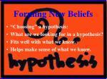 forming new beliefs8