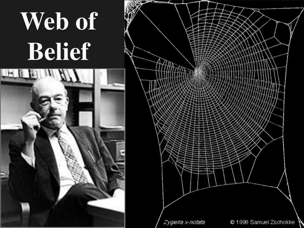 web of belief l.