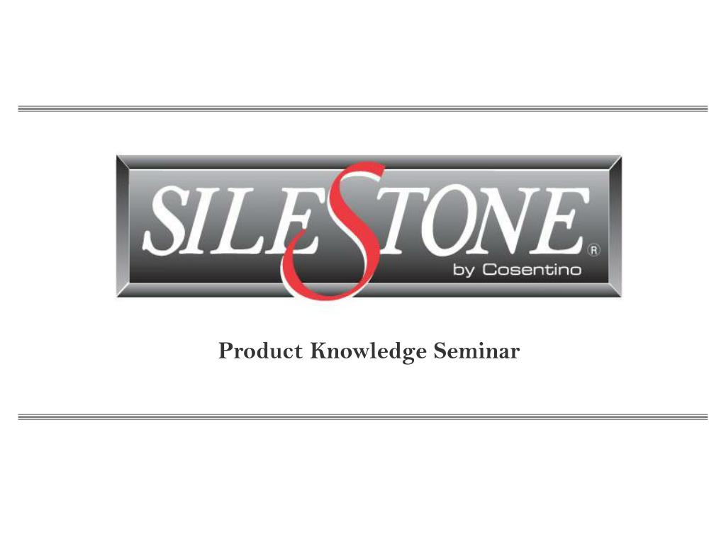 product knowledge seminar l.