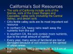 california s soil resources