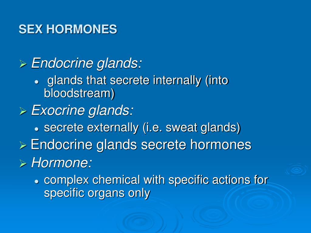 Ppt Sex Hormones Powerpoint Presentation Id353339