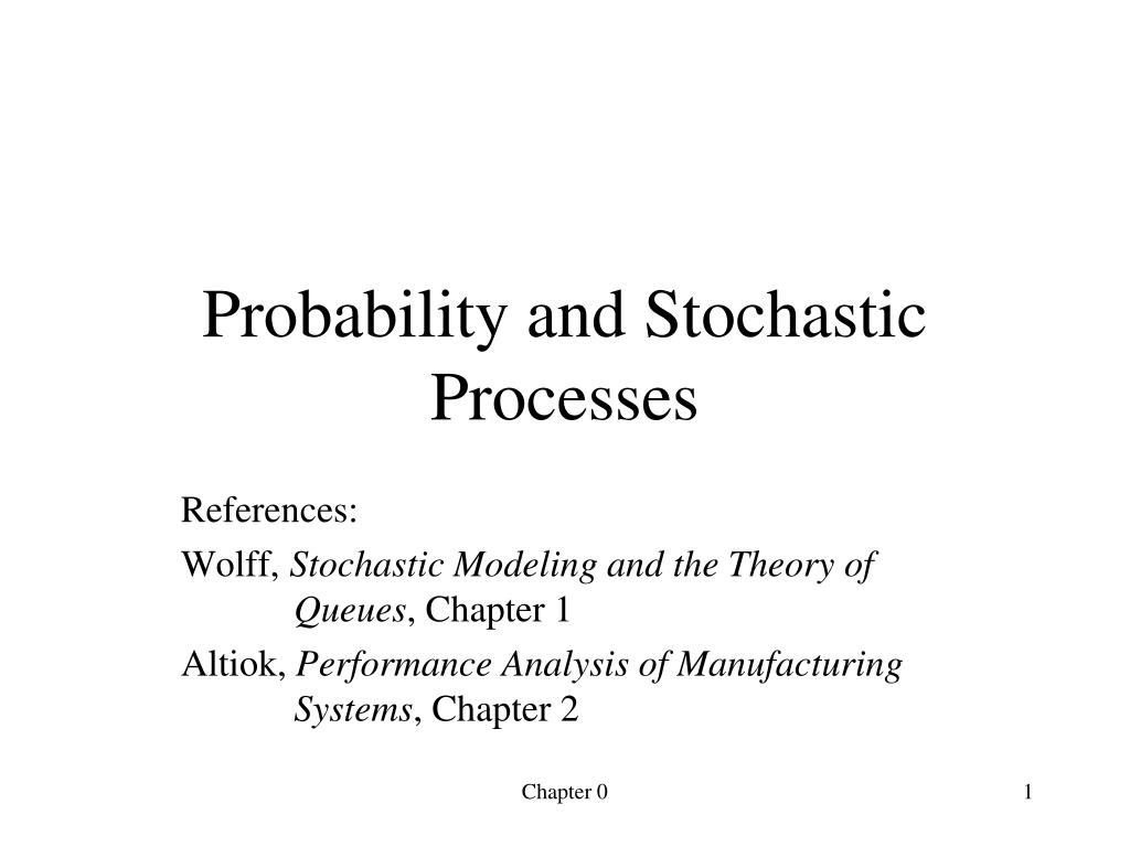probability and stochastic processes l.
