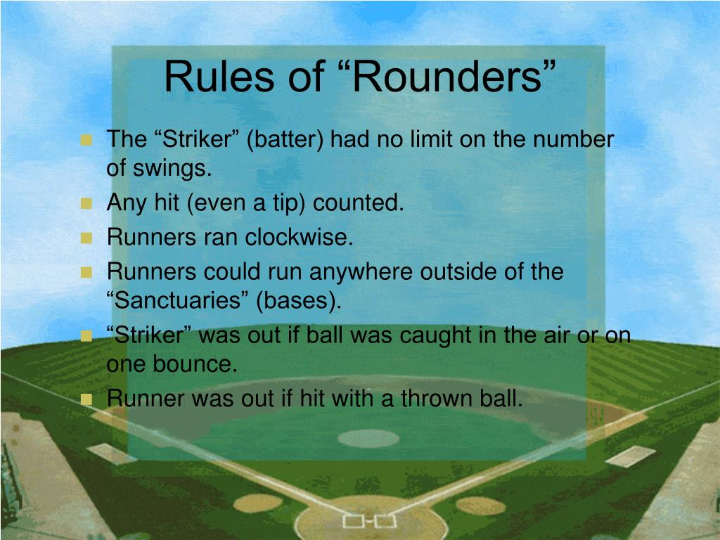 "Rules of ""Rounders"""