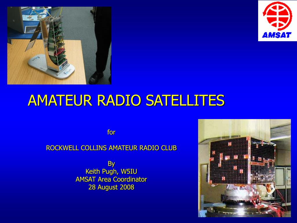 amateur radio satellites l.