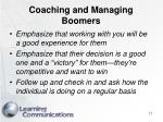 coaching and managing boomers17