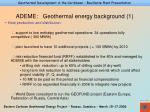 ademe geothermal energy background 1