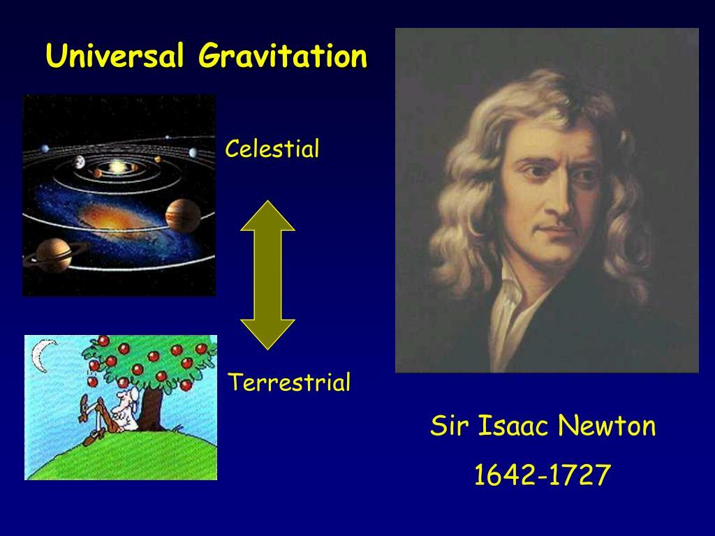 universal gravitation l.