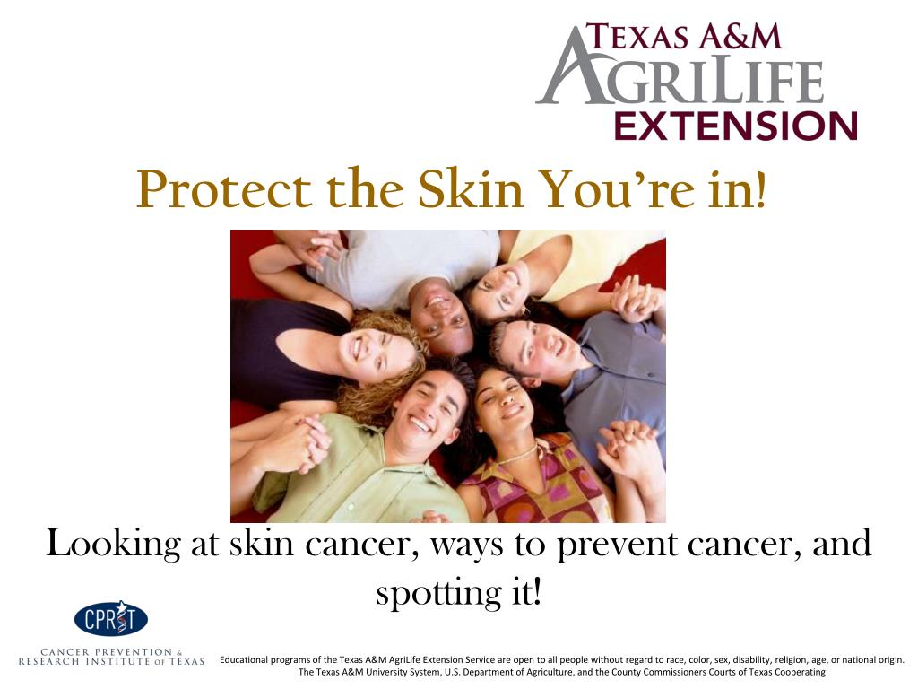 protect the skin you re in l.