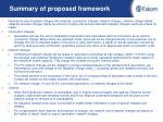 summary of proposed framework