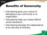 benefits of generosity10