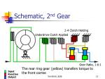 schematic 2 nd gear