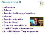 generation x13