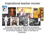 inspirational teacher movies