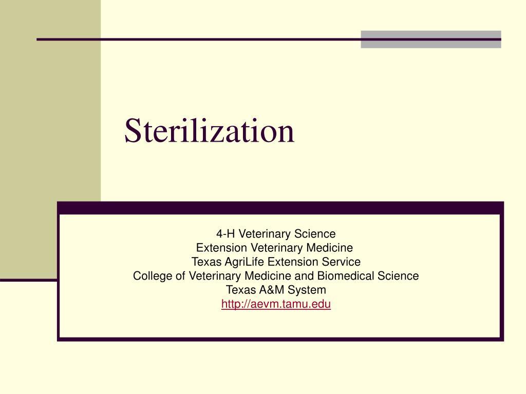 sterilization l.