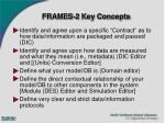 frames 2 key concepts
