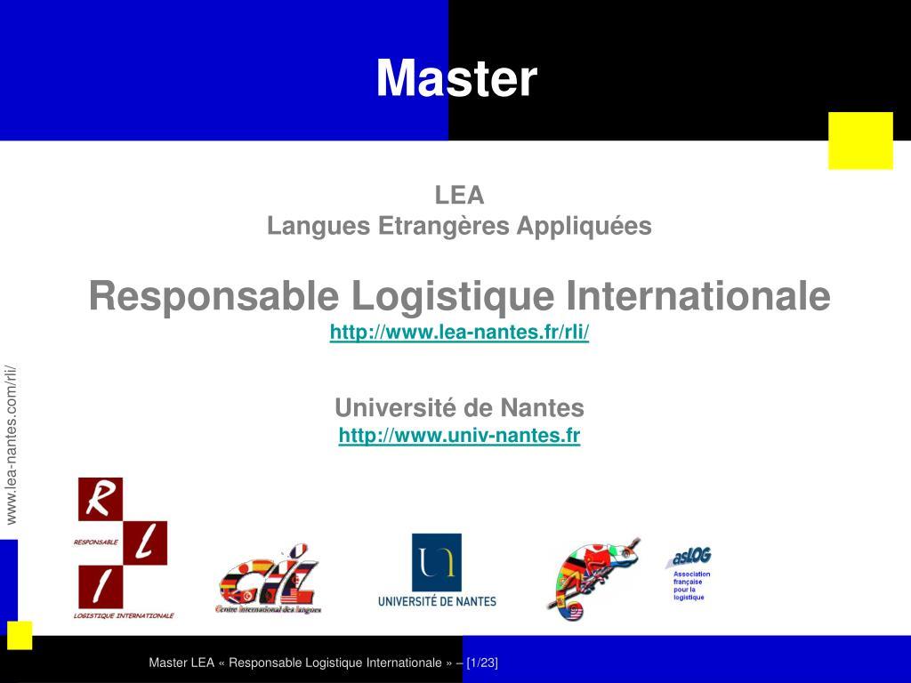master l.