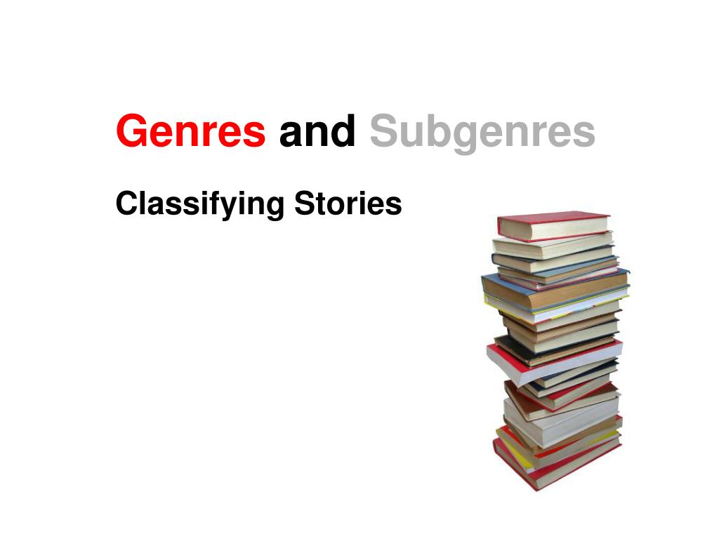 genres and subgenres l.