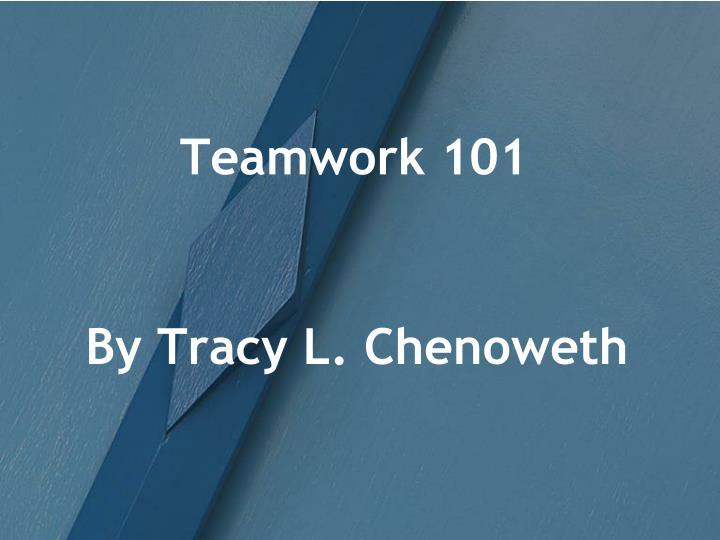 teamwork 101 n.