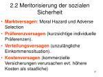 2 2 meritorisierung der sozialen sicherheit