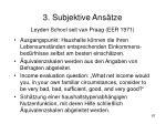 3 subjektive ans tze