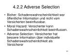 4 2 2 adverse selection