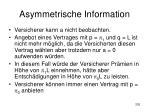 asymmetrische information202
