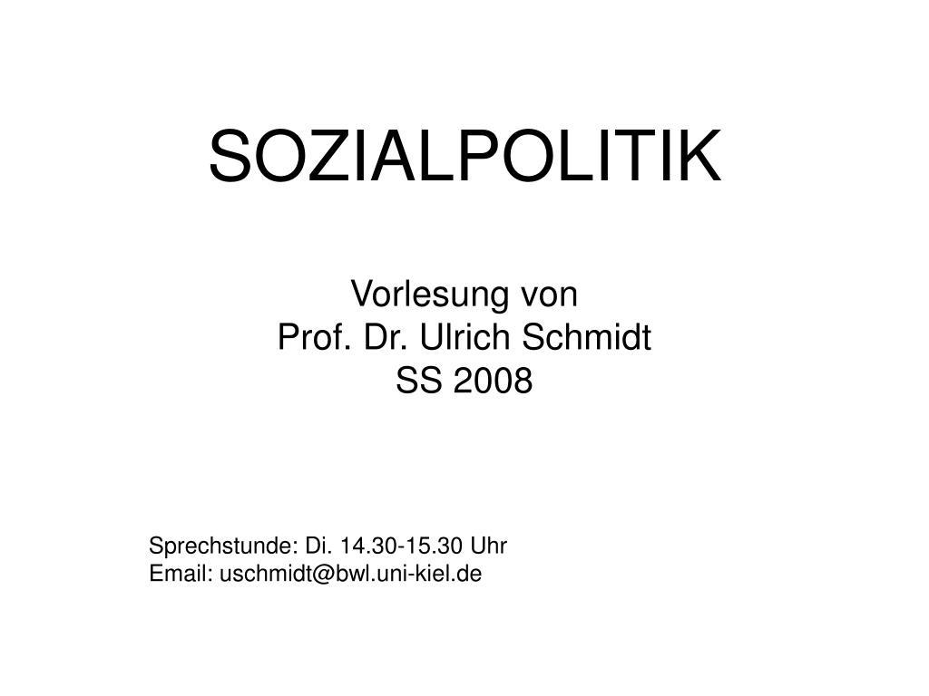 sozialpolitik l.