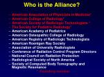 who is the alliance