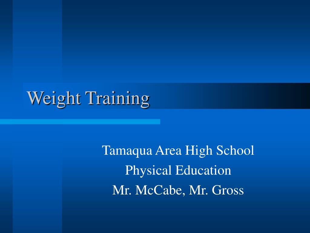 weight training l.