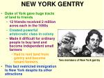 new york gentry