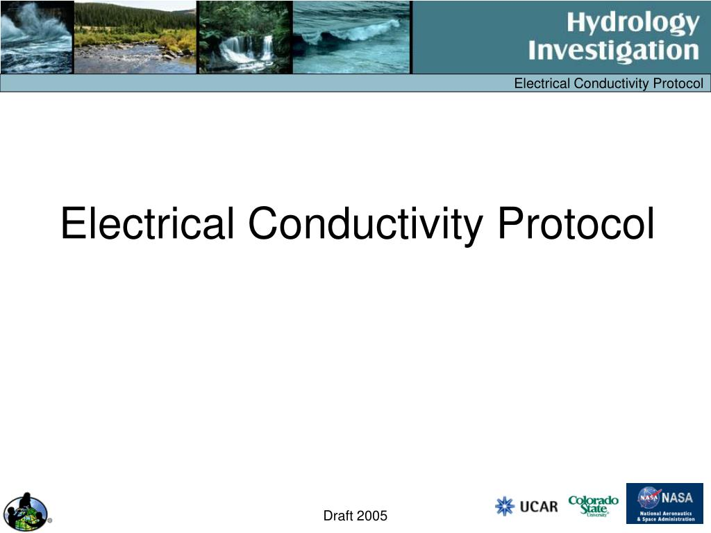 electrical conductivity protocol l.