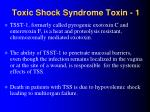toxic shock syndrome toxin 1