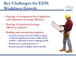 key challenges for eess workforce growth