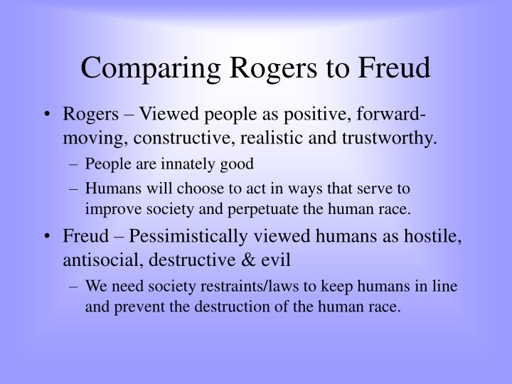 freud and rogers