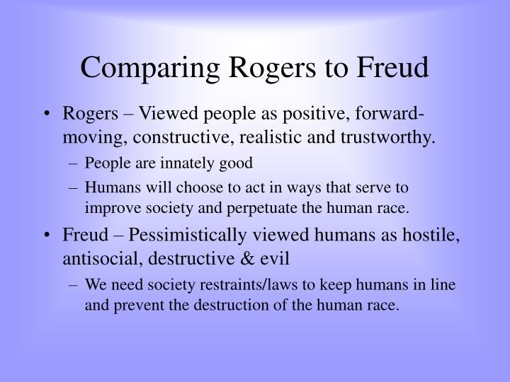 freud vs rogers