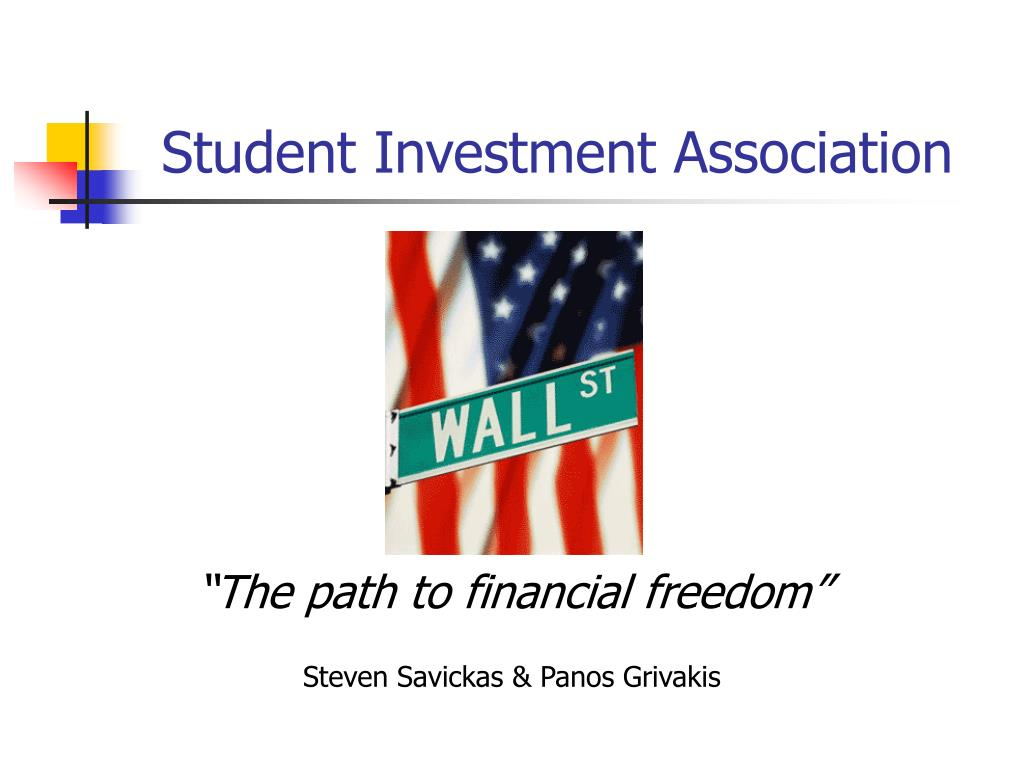 the path to financial freedom steven savickas panos grivakis l.
