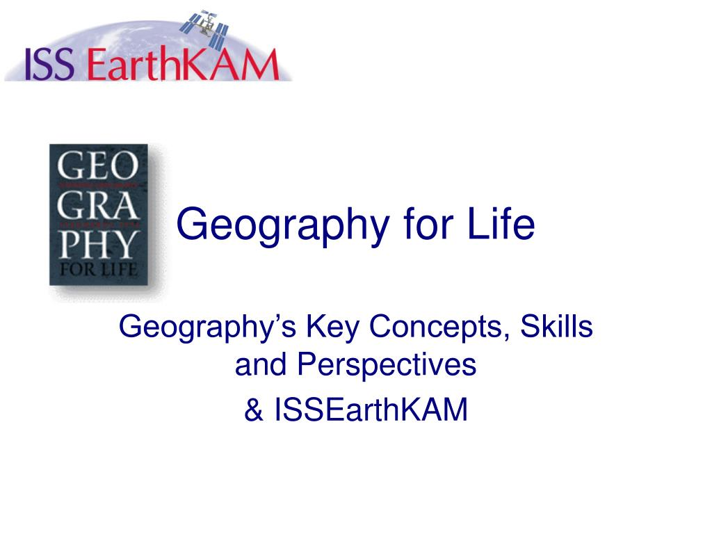 geography for life l.