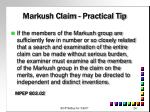 markush claim practical tip