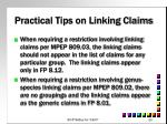 practical tips on linking claims