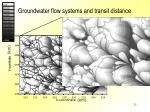 groundwater flow systems and transit distance