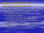 petition the sec opt in rsa 162 h 2 xi and rsa 541 a 32